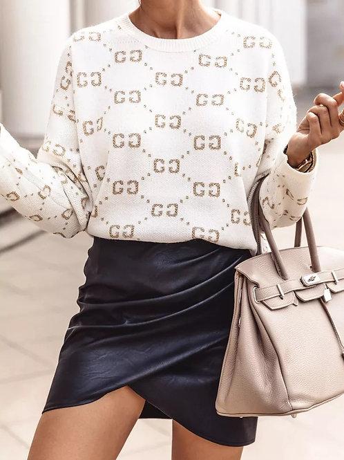 Guna Leather Skirt