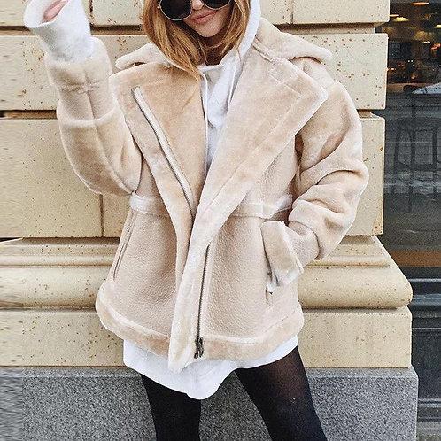 Kia Faux Fur Cozy Coat