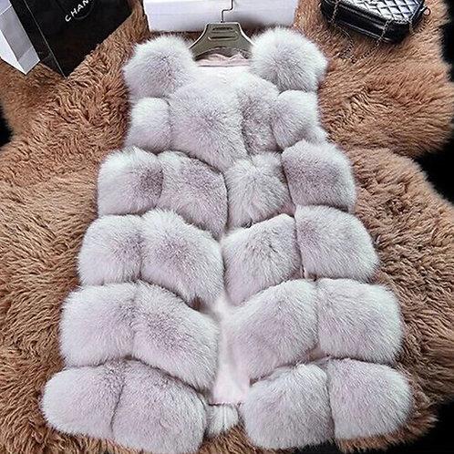 Giny Faux Fur Vest