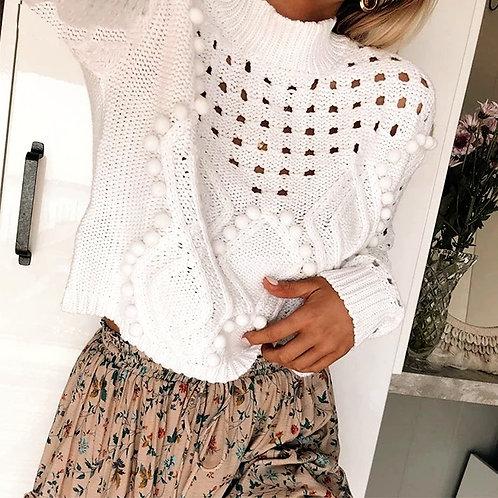 Milka  Pompom Sweater