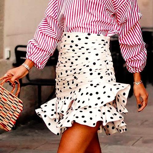 Soliy Polka Dots Skirt