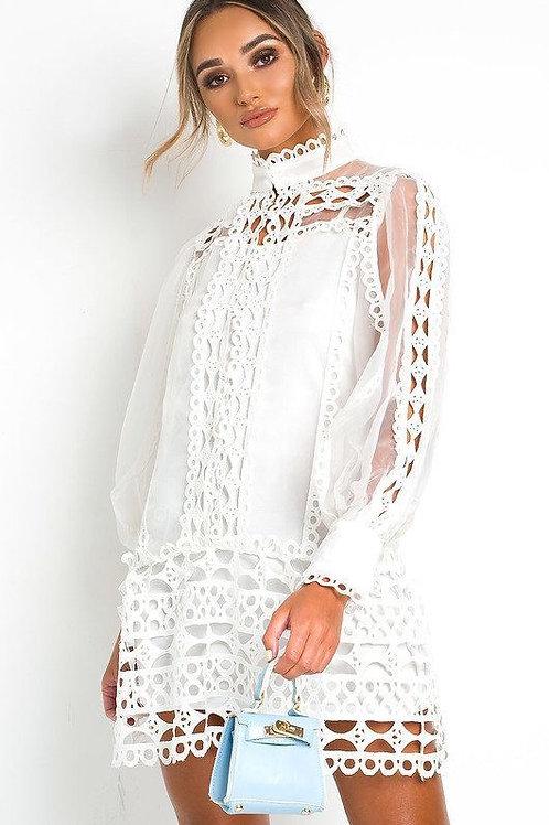 Linze Crochet Dress