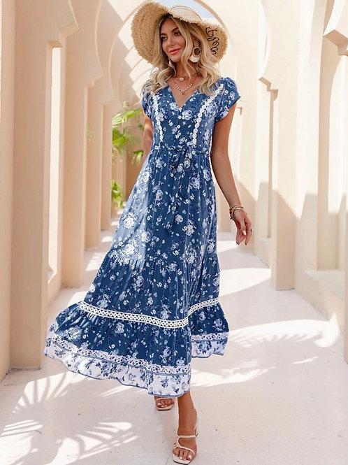 Kendal Floral Maxi Dress
