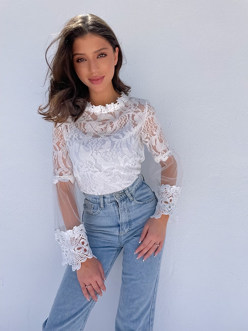 Perrie Lace Top