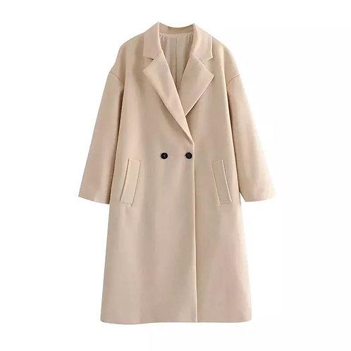 Jicky Over Sized Cream Coat