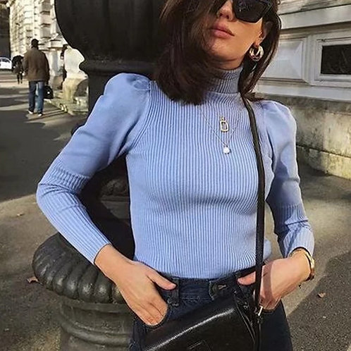 Justina Casual long Sleeve Sweater