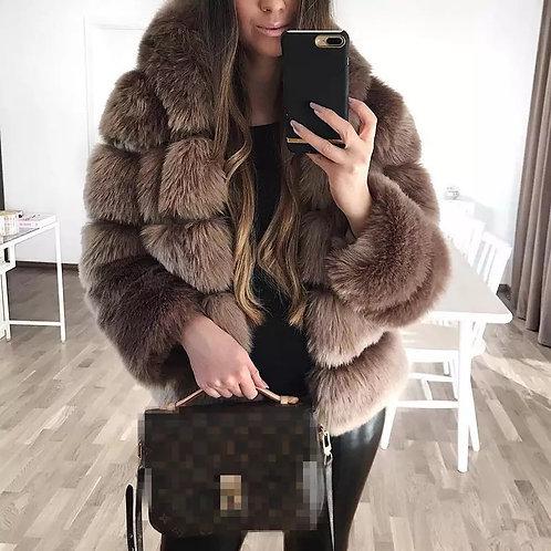 Alixa Faux Fur Coat