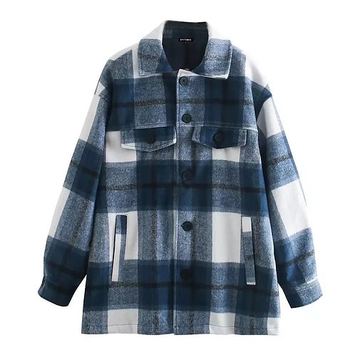 Jenna Plaid Casual Jacket