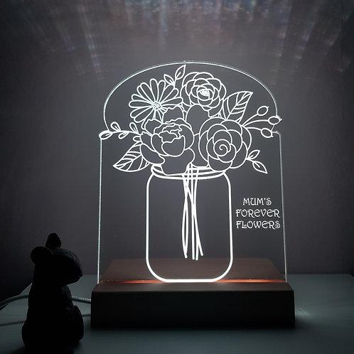 MUM'S FOREVER FLOWERS LED LIGHT