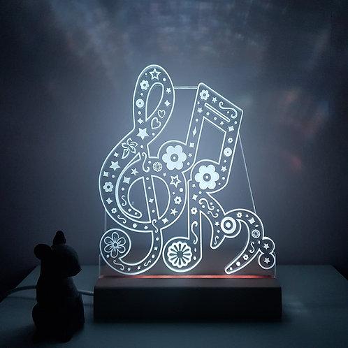 MUSICAL NOTES LED LIGHT