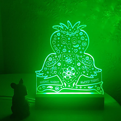 NIGHT OWL MULTI COLOURED LED LIGHT
