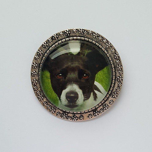 Personalised Photo Brooch