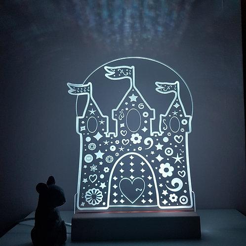 PRINCESS CASTLE LED LIGHT