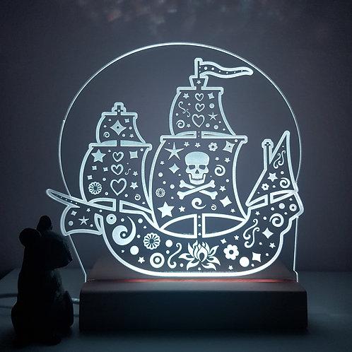 PIRATE SHIP LED LIGHT