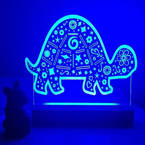TORTOISE MULTI COLOURED LED LIGHT