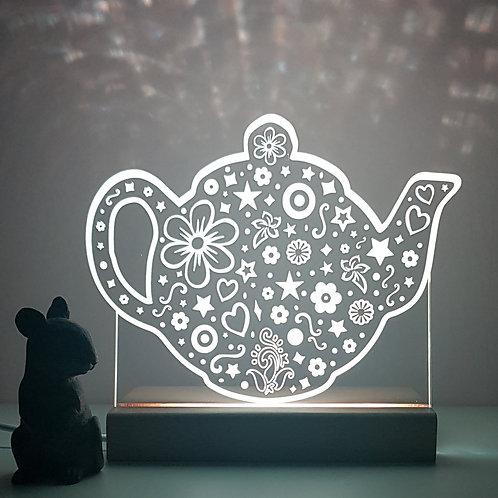 TEA POT LED LIGHT