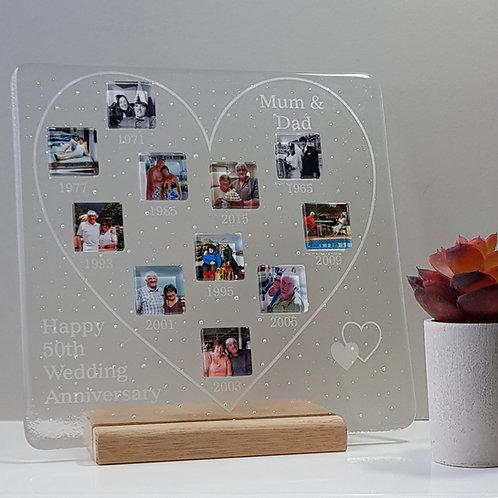 Large Love Heart Panel