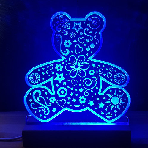 TEDDY MULTI COLOURED LED LIGHT