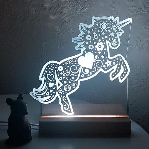 UNICORN REARING LED LIGHT