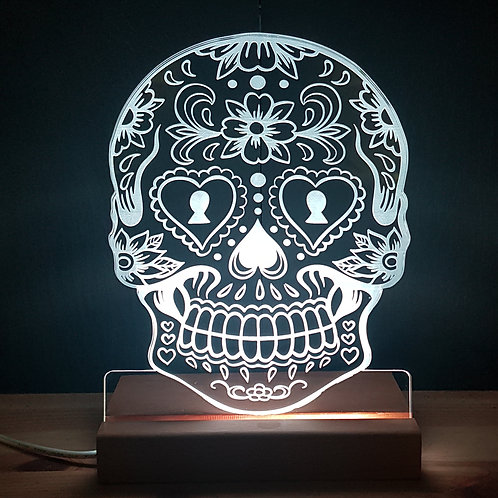 SUGAR SKULL LED LIGHT