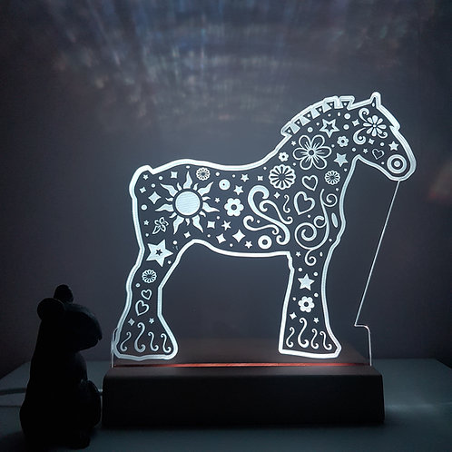 SHIRE HORSE LED LIGHT