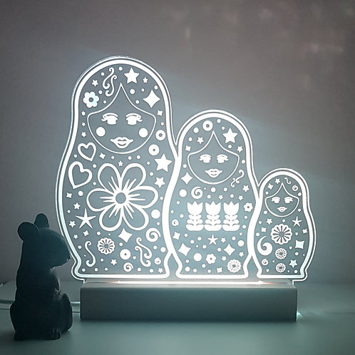 RUSSIAN DOLL LED LIGHT