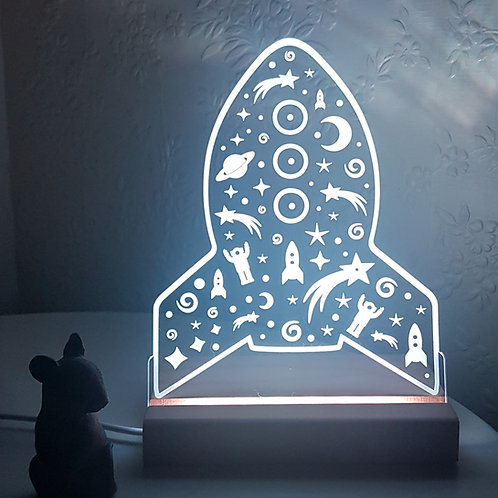 SPACE SHIP LED LIGHT