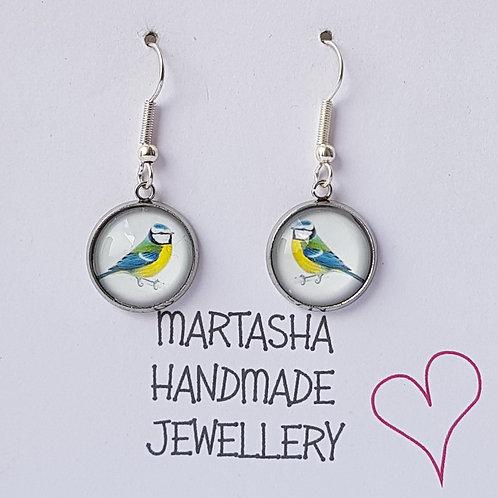 Wild Bird Drop Earrings