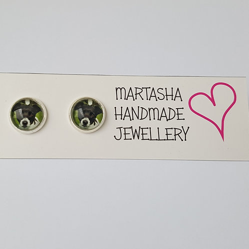 Personalised Photo Stud Earrings