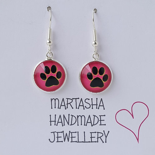 Paw Drop Earrings