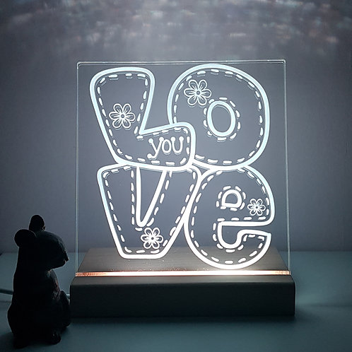 """LOVE YOU"" LED LIGHT"