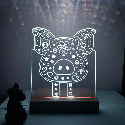 PIG LED LIGHT
