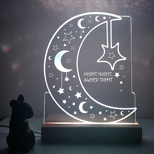 MOON & STARS LED LIGHT