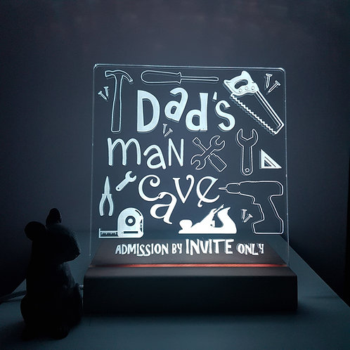DAD's MAN CAVE LED LIGHT