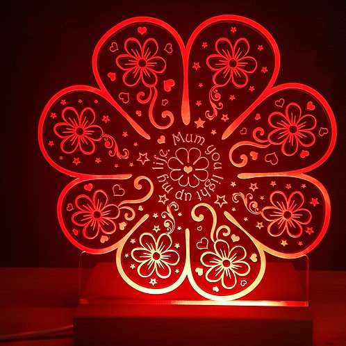 FLOWER MULTI COLOURED LED LIGHT