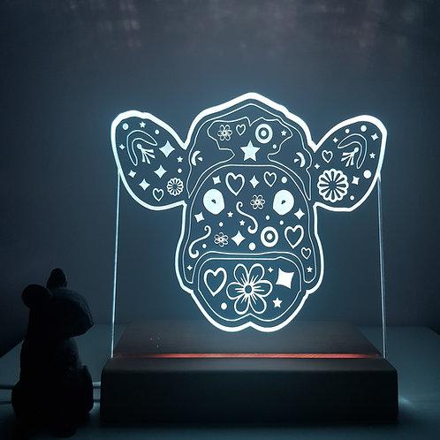 MOO COW LED LIGHT