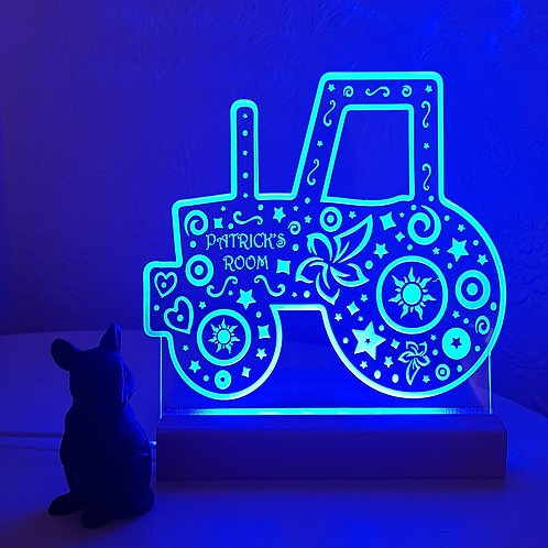 TRACTOR MULTI COLOURED LED LIGHT
