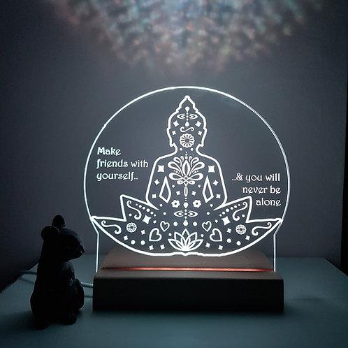 BUDDHA LED LIGHT