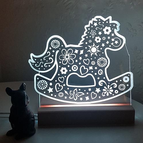 ROCKING HORSE LED LIGHT