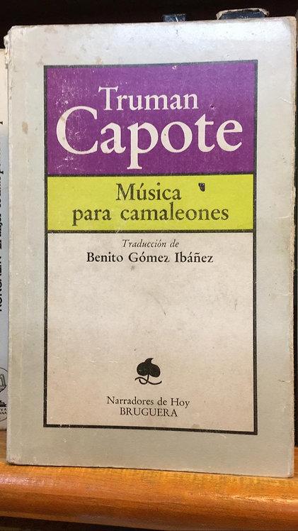 Música para Camaleones