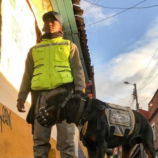 Welcome to Bogotá.