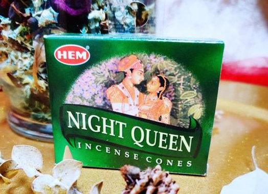 Incense Cones- Night Queen
