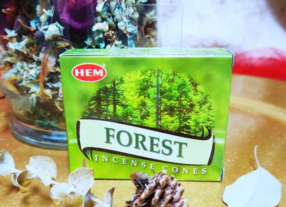 Incense Cones- Forest