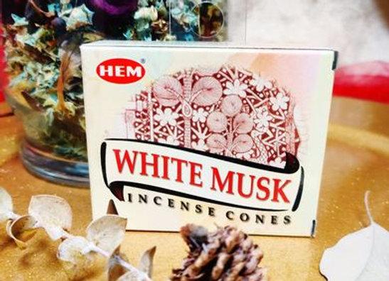 Incense Cones- White Musk
