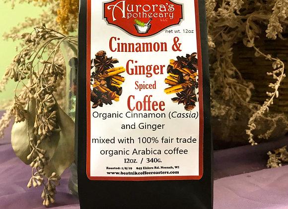 50pc Cinnamon Ginger Coffee 12 oz