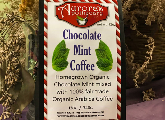 10 pc Chocolate Mint Coffee 12 oz