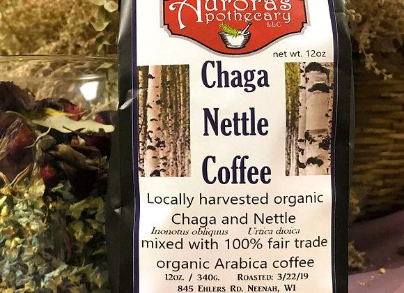 10 pc Chaga Nettle Coffee 12 oz