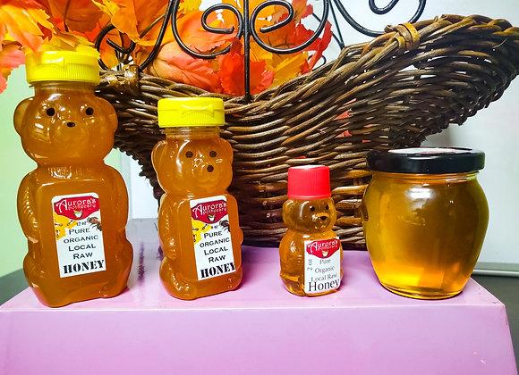 Pure and Raw Organic Honey