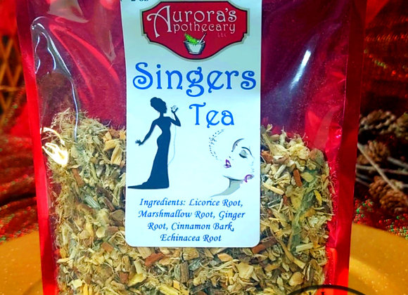 10 pcs Singers Tea 2oz