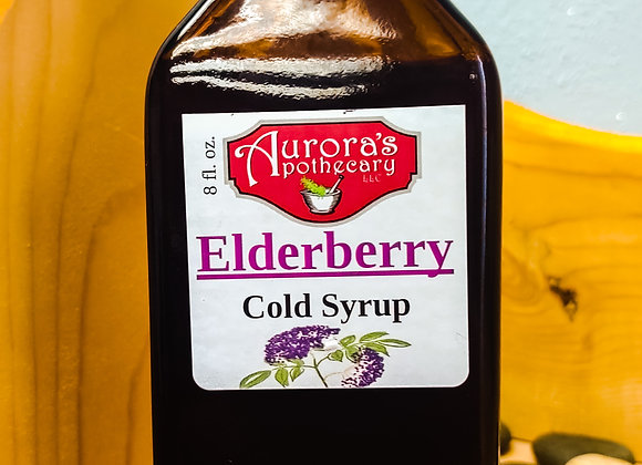 Elderberry Cold Syrup